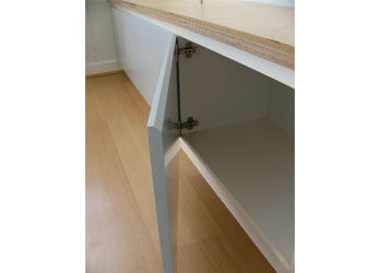 Attic Eves Cupboards