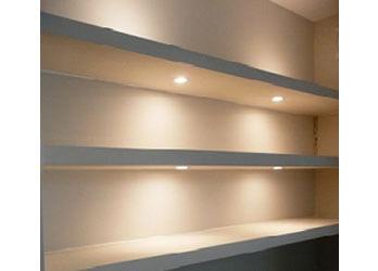 Illuminated wall shelving  sc 1 st  Elite Joinery Newcastle & Shelving u0026 Storage Units - Elite Joinery Newcastle